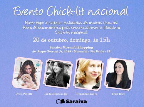 EVENTO chick lit nacional