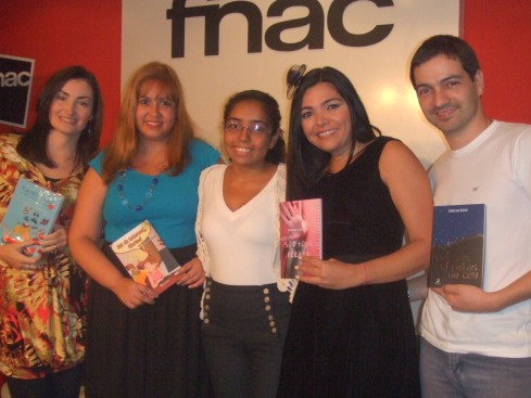 Falta a Fernanda França nessa foto! :(