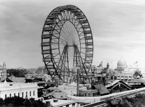 Ferris-wheel - EXPOSIÇÃO UNIVERSAL