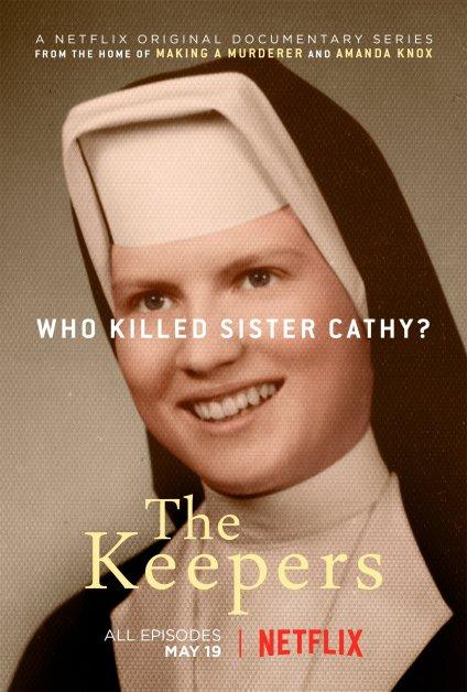 Pôster de divulgação do seriado The Keepers