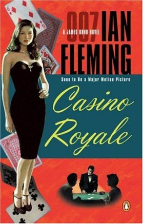 capa do livro casino royale de ian fleming