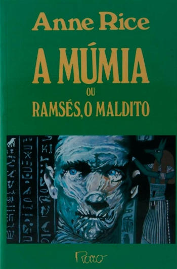 A múmia ou ramsés, o maldito capa anne rice