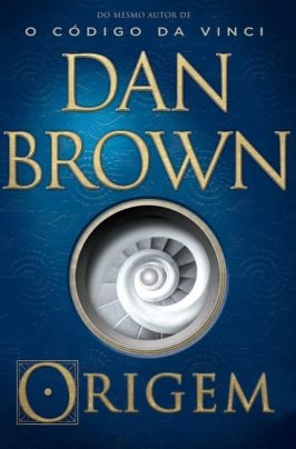 origem dan brown capa do livro